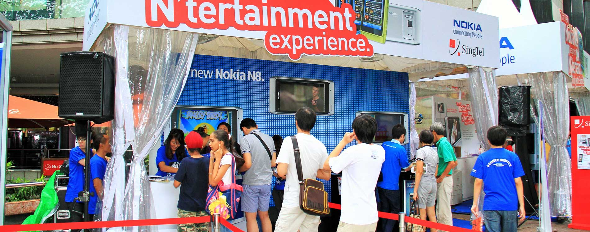 Singapore Events Management Company and Experiential Brand Activations Singapore