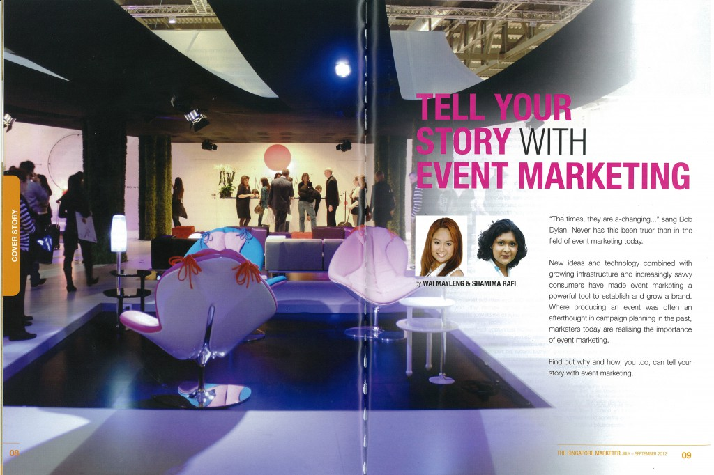 Tell Your Story With Event Marketing Pg1&2